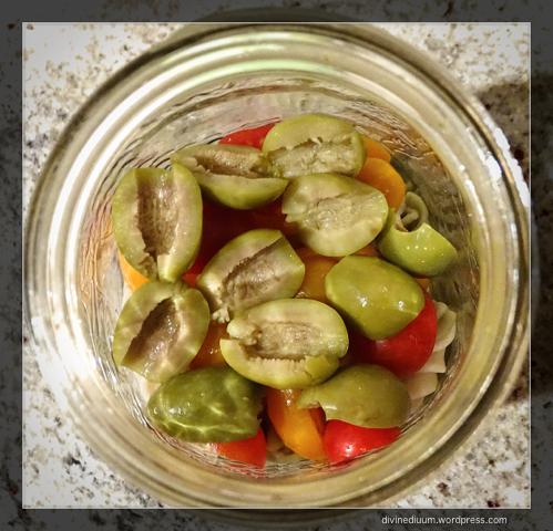 mason jar pasta salad divine diuum